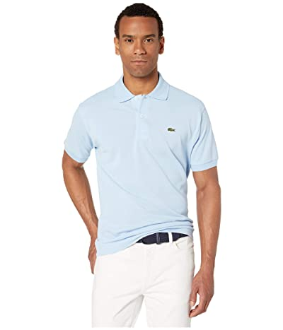 Lacoste Short Sleeve Classic Pique Polo Shirt (Creek) Men