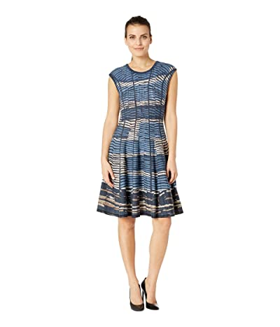 NIC+ZOE Petite Mesmerize Twirl Dress (Multi) Women