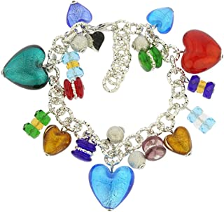 murano glass charms for bracelets