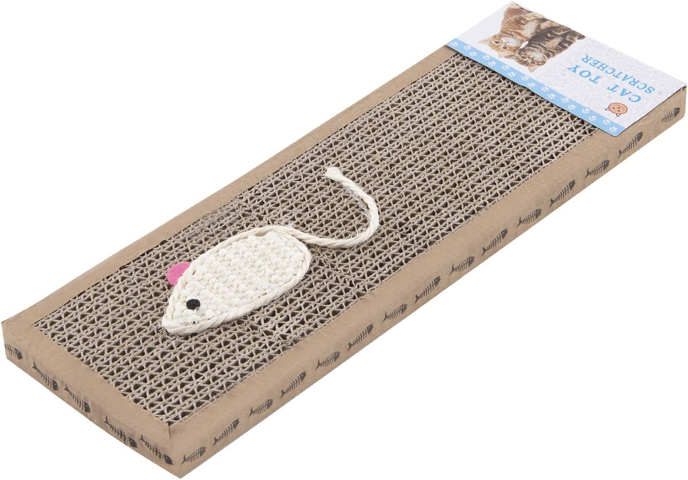 Zerdie Cat Max 69% OFF Scratching Max 54% OFF Pad Corrugated Double-Sided Horizontal