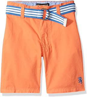 English Laundry Boys Belted Twill Short Shorts