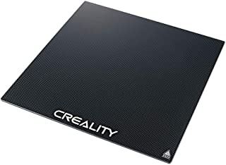 Creality 3D-printerplatform Verwarmd bed Bouwoppervlak Gehard glasplaat voor Ender 3 / Ender 3 Pro 3D-printer 235x235x3mm
