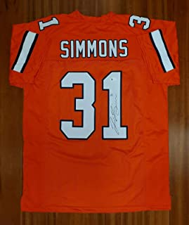 Autographed Justin Simmons Jersey - Beckett - Beckett Authentication - Autographed NFL Jerseys