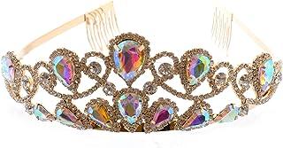 Topwholesalejewel Fashion Hair Band Princess Hair Comb Tiara Gold Plated