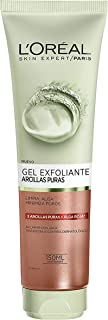 LOreal Paris Dermo Expertise - Arcillas puras gel limpiador exfoliante color rojo - 150 ml