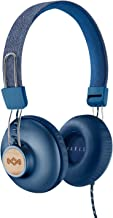 House of Marley Positive Vibration 2 On Ear Headphones, Denim