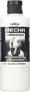 Vallejo Mecha Gloss Varnish 200ml Painting Accessories