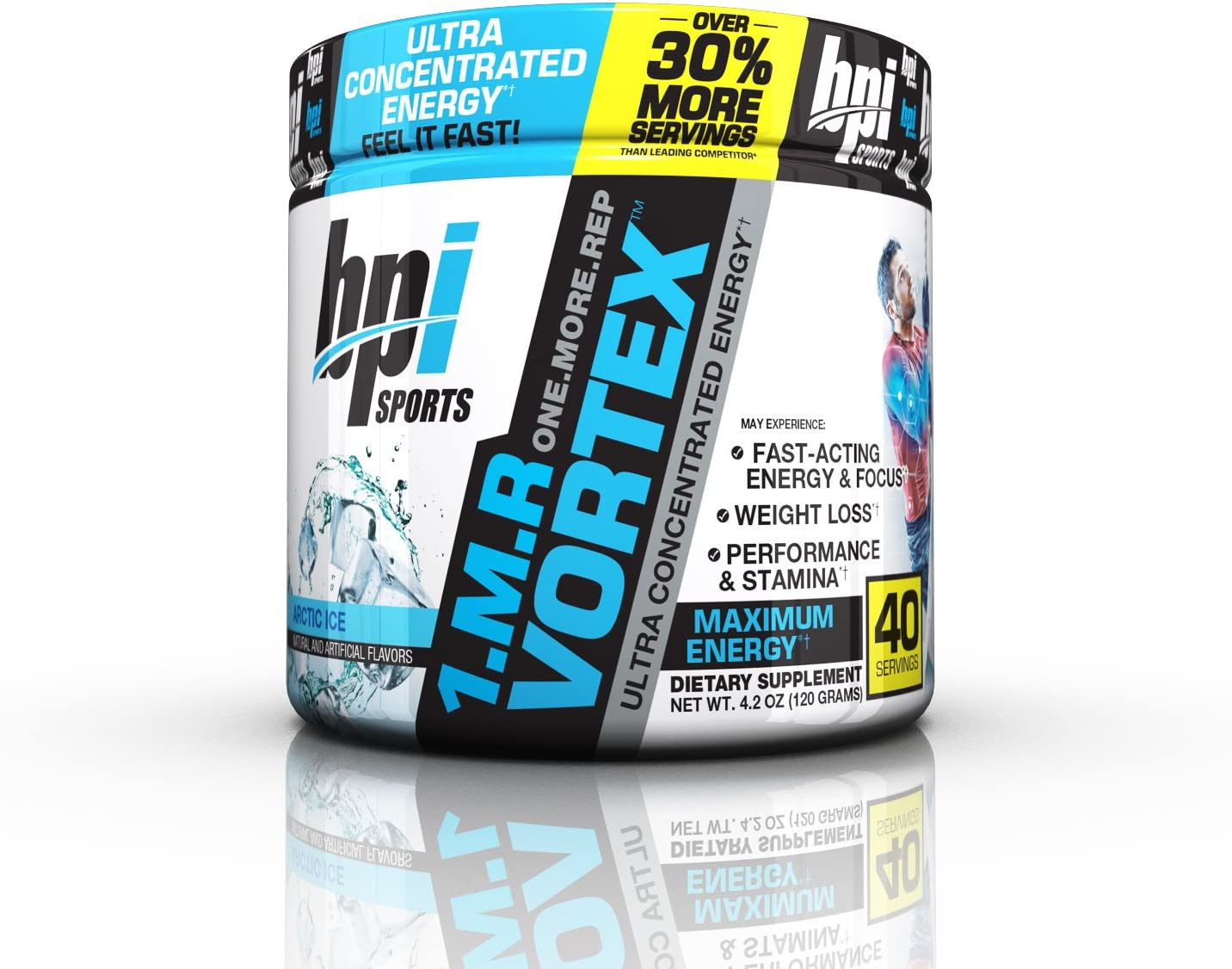 Buy Bpi Sports 1 M R Vortex Pre Workout Powder Arctic Ice 4 2 Ounce Online In Indonesia B015m9rnl2