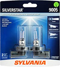 SYLVANIA - 9005 SilverStar - High Performance Halogen Headlight Bulb, High Beam, Low Beam and Fog Replacement Bulb, Brighter Downroad with Whiter Light (Contains 2 Bulbs) - coolthings.us