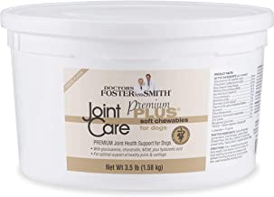 DRS. Foster and Smith Premium Plus Joint Care Cheese Flavor Soft Chews for Dogs