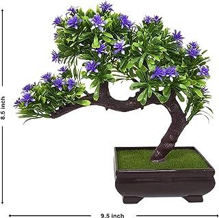Art Street Artificial Flowers/Plants/Flower in Ceramic Pot/Planter for Home, Garden dŽcor Decoration Gift Gifting -Violet