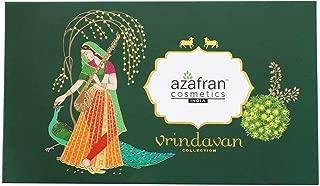 Azafran Cosmetics Organic Vrindavan Collection, Eye Shadow Blusher and Highlighter, 27 g