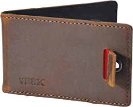 Mens Slim Front Pocket Minimalist Wallet - RFID Credit Card Holders for Men Women