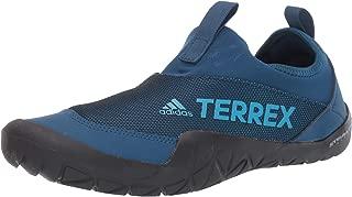 Men's Terrex Summer.RDY Jawpaw II Water Shoe, legend marine/shock cyan/Black, 8 M US