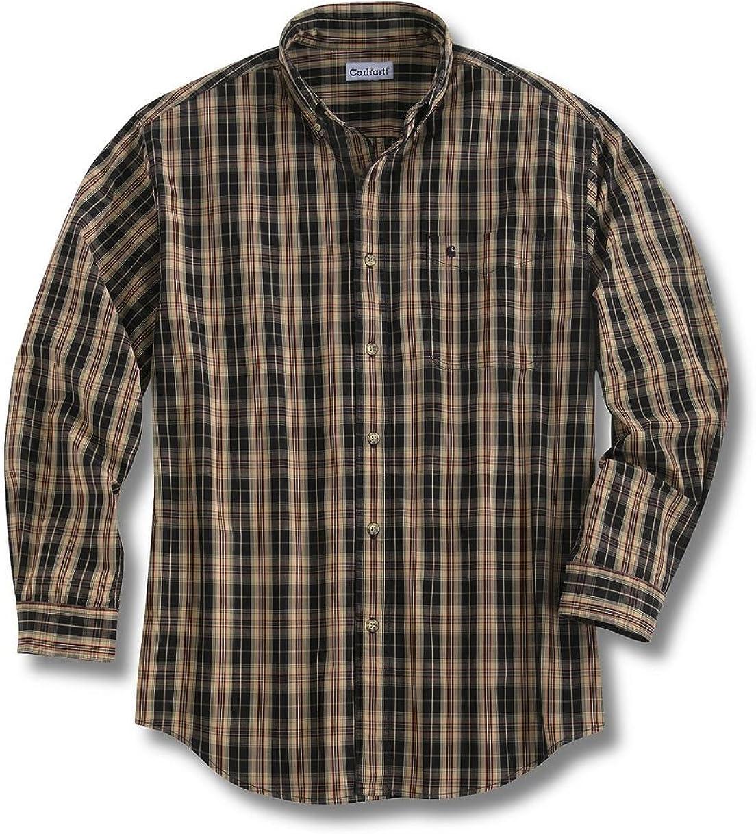 Carhartt Men's Long Sleeve Classic Plaid Shirt