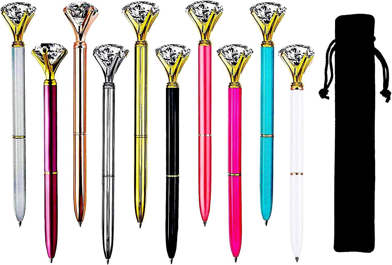 Diamond Pens 10 Crystal Animer and price revision Ballpoint Gi Velvet Pen with half