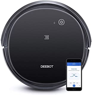Ecovacs DEEBOT 500 Robot Vacuum Cleaner with Max Power Suction, Up to 110 min Runtime, Hard Floors and Carpets, Pet Hair, ...