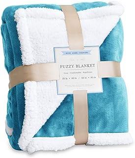 Rose Home Fashion Throw Blanket, Fleece Blanket, Fuzzy Blanket, Throw Blankets, Soft Blanket, Plush Blanket, Throw Blanket...