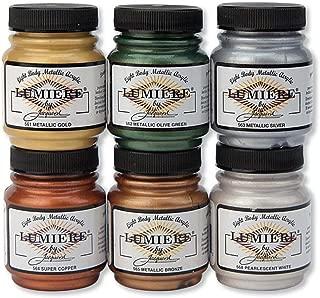 Jacquard Lumiere 6 Color Set