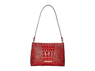 Brahmin Melbourne Lorelei Shoulder Bag (Lava) Shoulder Handbags