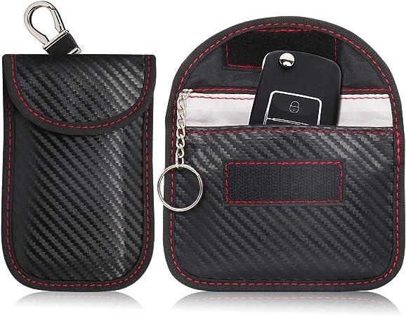 Hoyixi Signal Blocking Tasche Für Auto Schlüssel 2 Pack Elektronik