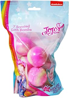 JoJo Siwa 7 Scented Bath Bombs (Cotton Candy)