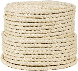 Natural Koch Industries Koch 5271635 1//2 by 50-Feet Manila Twisted 3 Strand Rope