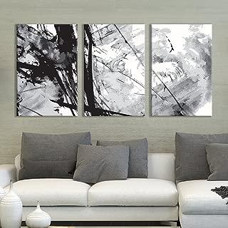 Best black and white brush stroke art Reviews
