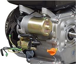 AlveyTech Electric Starter Motor with Solenoid for 6.5 HP 196cc Go-Kart & Mini Bike Engines