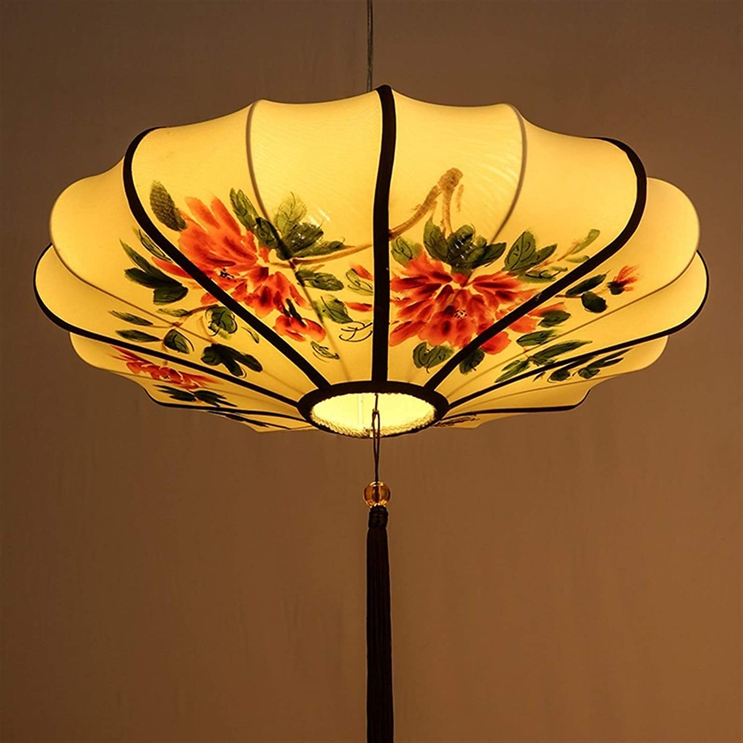Superior Pendant Light Chandeliers favorite New Led style Chinese Retro Painting r