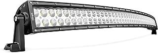 LEDLight BarNilight52Inch 300W Curved Spot Flood Combo LED Driving Lamp Off Road Lights LED Work Light for Trucks Boat Jeep Lamp,2 Years Warranty