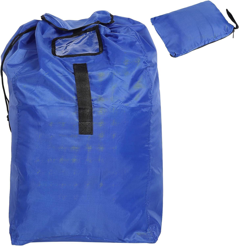 TOPINCN Stroller Travel Bag 420D PA Coating Baby Stroller Seat Bag Portable Dustproof Storage Backpack Large Capacity for Outdoor Use