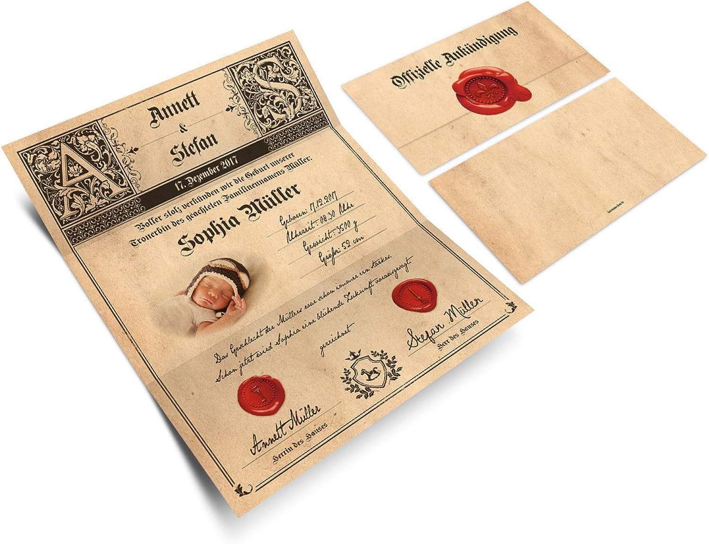 Geburtskarten (30 Stück) Wickelfalz Babykarten Babykarten Babykarten Grußkarten Geburt Siegelbrief Siegel Aufkleber B073P9KR8M  | Internationale Wahl  040abc
