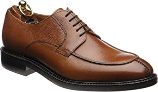 Herring Tiverton Rubber-Soled Rubber-Soled Derby Shoes in Tan Grain