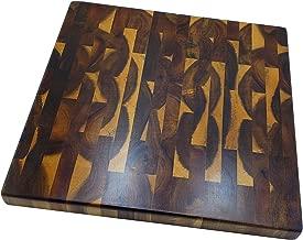 Premium Acacia Wood End Grain Large Cutting Board, 14