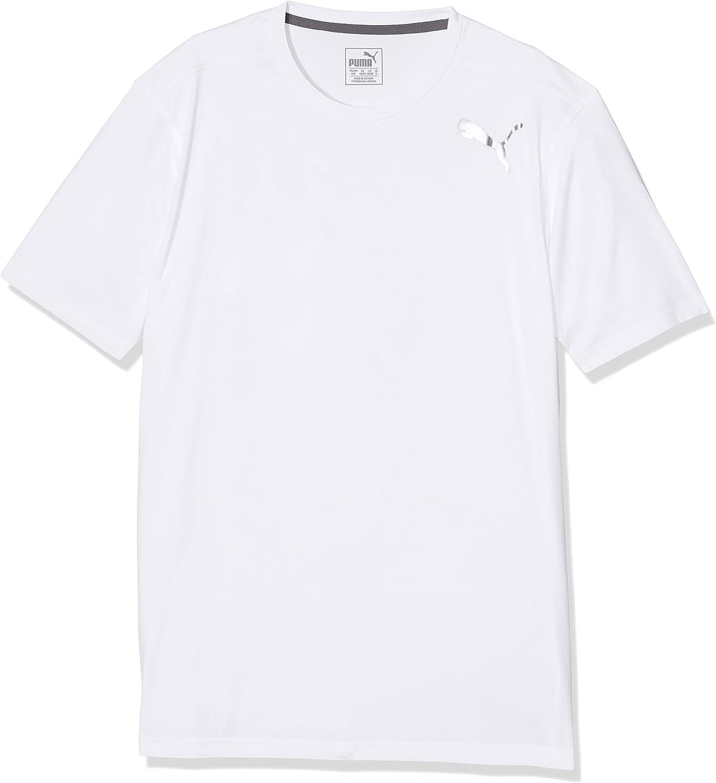(Large, White)  Puma Men's Essential Short Sleeve TShirt
