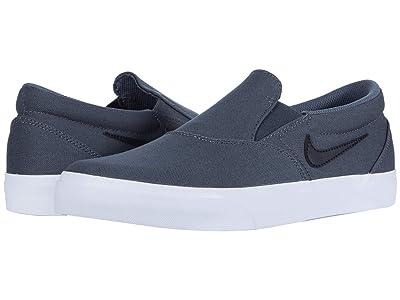 Nike SB Charge Slip (Iron Grey/Black/Iron Grey/White) Men