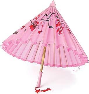 Bristol Novelty Silk Parasol With Wooden Handle