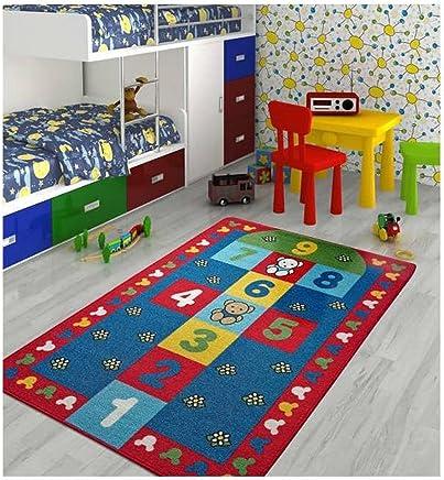 Confetti 100x150 cm Sek Sek Anaokulu & Çocuk Odası Oyun Halısı