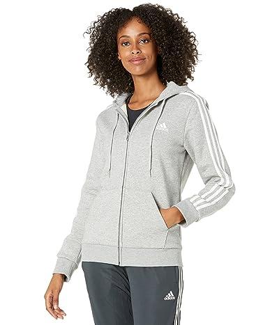 adidas 3-Stripes Fleece Full Zip Hoodie