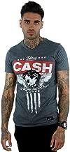 Johnny Cash Men's Always On My Mind V-Neck T-Shirt