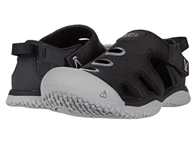 KEEN Kids Stingray (Toddler/Little Kid) (Black/Drizzle) Boy