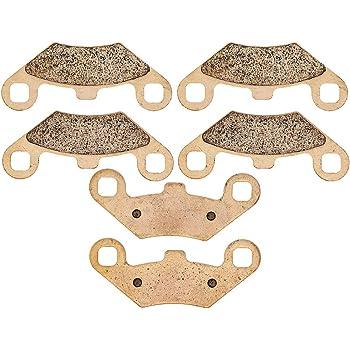 NICHE Brake Pad Kit Polaris Sportsman 570 500 2202412 2201398 Complete Organic