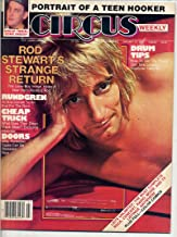 Circus Magazine ROD STEWART Todd Rundgren CHEAP TRICK Tom Waits MOLLY HATCHET The Doors TEEN HOOKER January 23, 1979 C