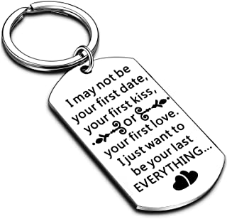 for Husband Boyfriend Man Keychain for Hubby Boyfriend Birthday from Girlfriend Wife