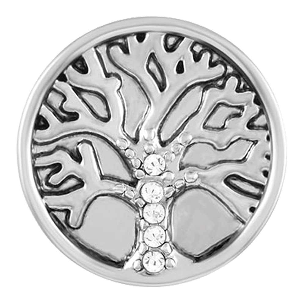 Ginger Snaps, Stone Family Tree, (Standard Size) SN02-13 Interchangeable Jewelry Snap Accessory