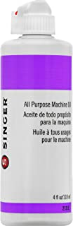SINGER 2131E All Purpose Machine Oil, 4-Fluid Ounces