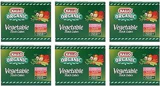 (6 PACK) - Kallo - Organic Vegetable Stock Cubes   66g   6 PACK BUNDLE