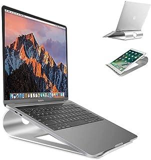 Sausire Support D'ordinateur Portable Support de Refroidissement de Bureau en Alliage d'Aluminium Portatif - Support Unive...