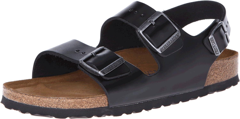 birkenstock milano leather sandals